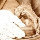 Art Drawing - Making of Potter - Pottery - Hands - Step 5