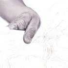 Art Drawing - Making of Wood Carving - Hands - Step 2