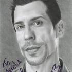 Danny Wood autograph - NKOTB European Tour - Zurich, May 2014