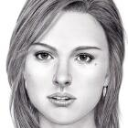 Art Drawing - Natalie Portman Portrait
