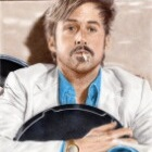 Art Drawing - Ryan Gosling Portrait - Holland March in 'The Nice Guys'