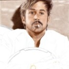 Art Drawing - Making of Ryan Gosling Portrait - Holland March in 'The Nice Guys' - Step 4