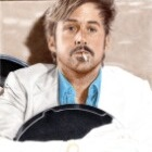 Art Drawing - Making of Ryan Gosling Portrait - Holland March in 'The Nice Guys' - Step 5