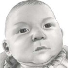 Art Drawing - Nolan - Baby Portrait