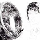 Art Drawing - Making of Elijah Wood Portrait - Ring Bearers: Frodo & the Witch King - Lord of the Rings - Step 6