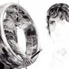 Art Drawing - Making of Elijah Wood Portrait - Ring Bearers: Frodo & the Witch King - Lord of the Rings - Step 7