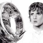 Art Drawing - Making of Elijah Wood Portrait - Ring Bearers: Frodo & the Witch King - Lord of the Rings - Step 9