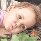 Art Drawing - Captivated - Portrait - Child
