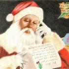 Art Drawing - Letter to Santa Claus