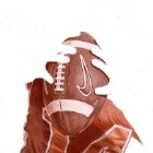 Art Drawing - Making of American Football - Player - Quarterback - Step 2