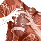 Art Drawing - Making of American Football - Player - Quarterback - Step 4