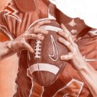 Art Drawing - Making of American Football - Player - Quarterback - Step 5