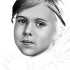 Art Drawing - Making of Child Portrait 01 - Step 3