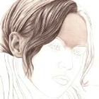 Art Drawing - Making of Pensive - Portrait - Step 3