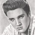 Art Drawing - Elvis Presley Portrait