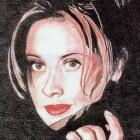 Art Drawing - Lara Fabian Portrait