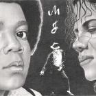 Art Drawing - Michael Jackson Portrait