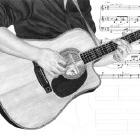 Art Drawing - Making of A Few Chords - Martin DC-Aura - Step 7