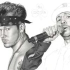 Art Drawing - Making of Donnie Wahlberg Portrait - New Kids On The Block - Step 6