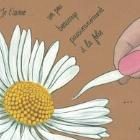 Art Drawing - Je t'aime...un peu...beaucoup - He loves me, he loves me not