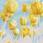 Art Drawing - Making of Colors of Spring - Flowers - Tulips - Step 2
