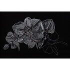 Art Drawing - Making of Silver Orchid - Flower - Step 2