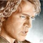 Art Drawing - Hayden Christensen Portrait - Anakin Skywalker #2 - Star Wars