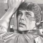 Art Drawing - Mark Hamill Portrait - Luke Skywalker - Star Wars