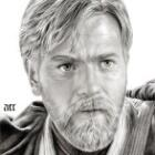Art Drawing - Ewan McGregor Portrait - Obi-Wan Kenobi - Star Wars