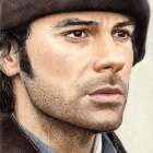 Art Drawing - Aidan Turner Portrait - Ross Poldark