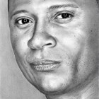 Art Drawing - David Ramsey Portrait - John Diggle - Spartan - Arrow