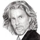 Art Drawing - John Glover Portrait - Lionel Luthor in Smallville