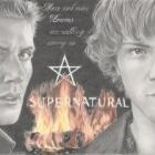 Art Drawing - Jensen Ackles & Jared Padalecki Portrait - Winchester Boys in Supernatural