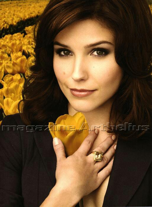Original portrait of Sophia Bush based on a picture published in French ...