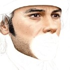 Art Drawing - Making of Aidan Turner Portrait - Ross Poldark - Step 3