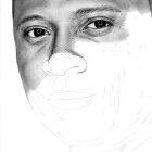 Art Dessin - Réalisation du Portrait de David Ramsey - John Diggle - Spartan - Arrow - Etape 3
