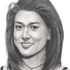 Art Drawing - Making of Grace Park Portrait - Step 7