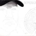 Art Drawing - Making of Jim Beaver Portrait - Bobby Singer in Supernatural - Step 2