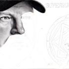 Art Drawing - Making of Jim Beaver Portrait - Bobby Singer in Supernatural - Step 4