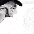 Art Drawing - Making of Jim Beaver Portrait - Bobby Singer in Supernatural - Step 5