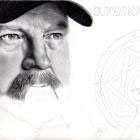Art Drawing - Making of Jim Beaver Portrait - Bobby Singer in Supernatural - Step 6