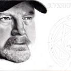 Art Drawing - Making of Jim Beaver Portrait - Bobby Singer in Supernatural - Step 7