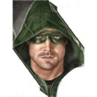 Art Drawing - Making of Stephen Amell Portrait - Oliver Queen - Arrow - Step 7