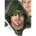Art Drawing - Making of Stephen Amell Portrait - Oliver Queen - Arrow - Step 9