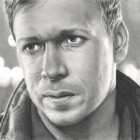 Art Drawing - Donnie Wahlberg Portrait - C. Carwood Lipton - Band Of Brothers