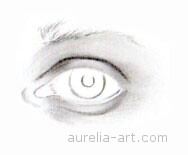 Art - Tutorial - How to draw an eye - Step 2