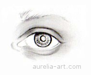 Art - Tutorial - How to draw an eye - Step 3