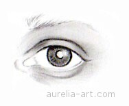 Art - Tutorial - How to draw an eye - Step 4