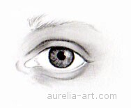 Art - Tutorial - How to draw an eye - Step 5