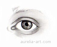 Art - Tutorial - How to draw an eye - Step 6